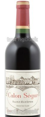Red wine, Château Calon Ségur 2010