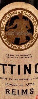 Sparkling wine, Brut Réserve NV (70's)