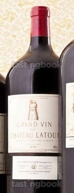 Red wine, Château Latour 1978