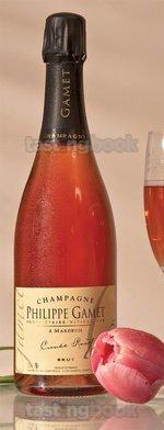 Sparkling wine, Cuvée Rosé NV (10's)