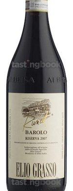 Red wine, Barolo Runcot Riserva 2006