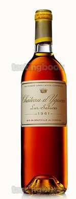 White wine, d'Yquem 1961