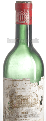 Red wine, Château Margaux 1955