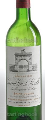 Red wine, Léoville-Las Cases 1985