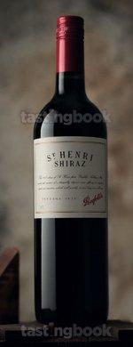 Red wine, St Henri Shiraz 2010