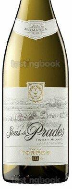 White wine, Sons de Prades Chardonnay 2018