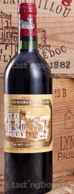 Red wine, Chateau Ducru-Beaucaillou 1982