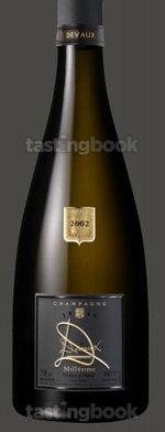 Sparkling wine, D Millésime 2002