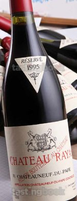 Red wine, Châteauneuf-du-Pape 1995