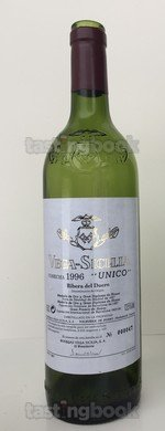 Red wine, Unico 1996