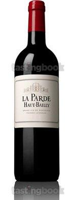 Red wine, La Parde de Haut Bailly 2012