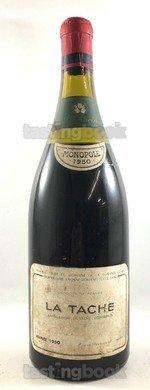 Red wine, La Tâche 1950
