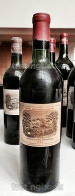 Red wine, Lafite-Rothschild 1966