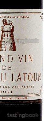 Red wine, Château Latour 1971