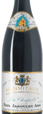 Red wine, Hermitage La Chapelle 1990