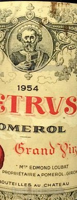 Red wine, Pétrus 1954