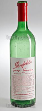 Red wine, Grange Hermitage 1985