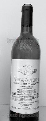 Red wine, Unico 1989