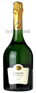Sparkling wine, Comtes de Champagne 2002