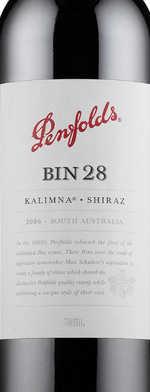 Red wine, Penfolds Bin 28 Kalimna Shiraz 2008
