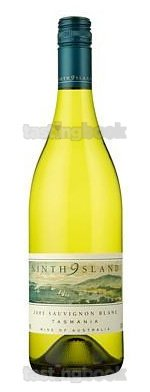 White wine, Ninth Island Sauvignon Blanc 2011