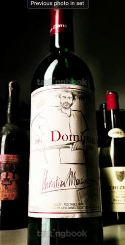 Red wine, Dominus 1984