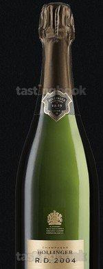 Sparkling wine, R.D. Bollinger 2004