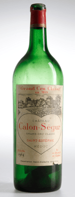 Red wine, Château Calon Ségur 1964