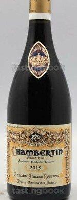 Red wine, Chambertin 2015