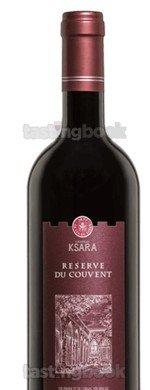 Red wine, Château Ksara Reserve du Couvent 2015