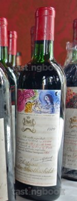 Red wine, Château Mouton-Rothschild 1970