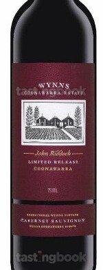 Red wine, John Riddoch Cabernet Sauvignon 2016