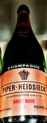 Sparkling wine, Brut Rosé 1973