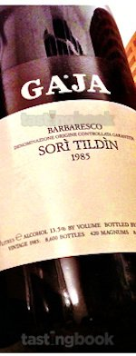 Red wine, Sori Tildin 1985