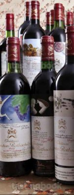 Red wine, Château Mouton-Rothschild 1997