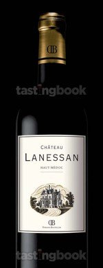 Red wine, Château Lanessan 2015