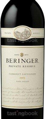 Red wine, Beringer Private Reserve Cabernet Sauvignon 2013