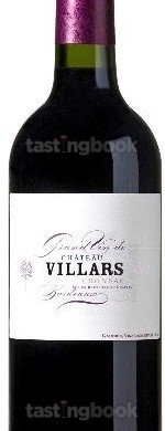 Red wine, Château Villars 2015