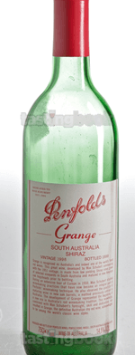 Red wine, Grange Hermitage 1998
