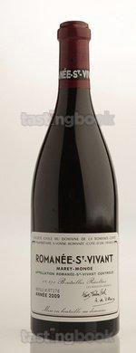 Red wine, Romanee Saint Vivant 2009