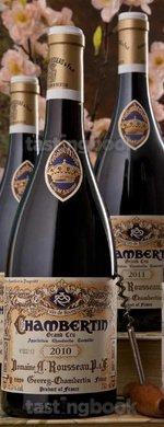 Red wine, Chambertin 2010