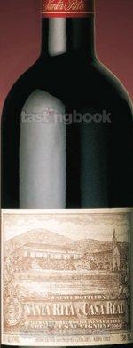 Red wine, Santa Rita Casa Real Reserva Especial  1996
