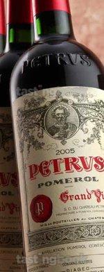 Red wine, Pétrus 2005