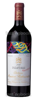 Red wine, Château Mouton-Rothschild 2011