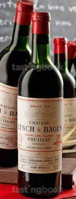 Red wine, Chateau Lynch-Bages 1961