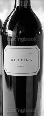 Red wine, Bettina 2009