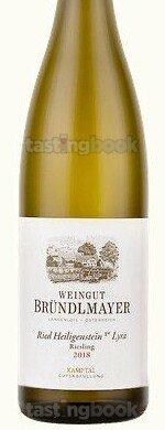 White wine, Zöbinger Heiligenstein Lyra Riesling 2018