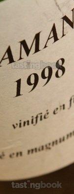 Sparkling wine, Vins Clairs Cramant Vinifié en Fût 1998