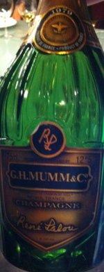 Sparkling wine, Cuvée R. Lalou 1979