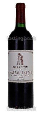 Red wine, Château Latour 2000